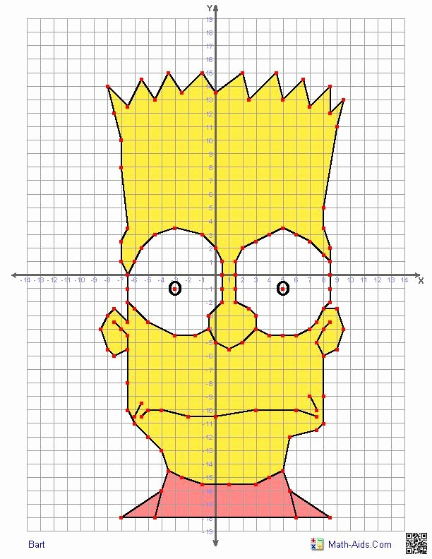 Plotting Points Worksheet Pdf Beautiful Bart One Of A Load Of Quite Plex but Brilliant Four