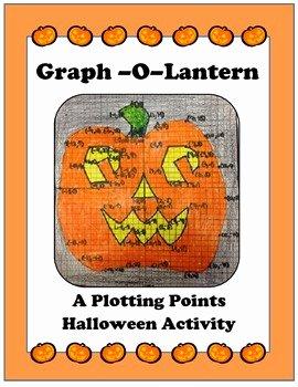 Plotting Points Worksheet Pdf Elegant Algebra Linear Graphing Plotting Points Halloween