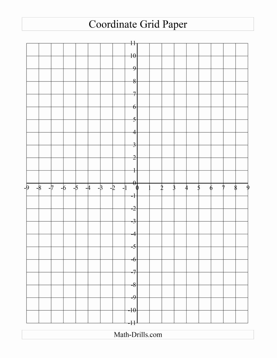 Plotting Points Worksheet Pdf Fresh Coordinate Grid Paper A Graph Paper