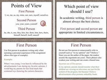 Point Of View Worksheet 11 Elegant Point Of View In Academic Writing by Laura torres