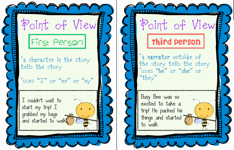 Point Of View Worksheet 11 Lovely Teaching Life and Everything In Between Teaching Point
