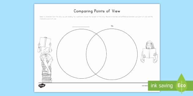 Point Of View Worksheet 11 Unique Point Of View Venn Diagram Worksheet Worksheet