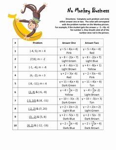 Point Slope form Practice Worksheet Best Of 1000 Images About Point Slope form On Pinterest