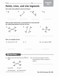 Points Lines and Planes Worksheet Fresh Geometry Points Lines Planes Worksheet