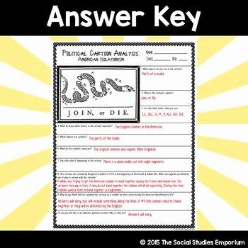 Political Cartoon Analysis Worksheet Awesome Cartoon Analysis Worksheet Answer Key Inspiracao Kids