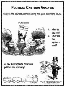 Political Cartoon Analysis Worksheet Beautiful Interstate Merce Act Facts Worksheets & Information