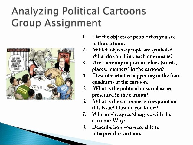 Political Cartoon Analysis Worksheet Inspirational Analyzing and Creating Political Cartoons