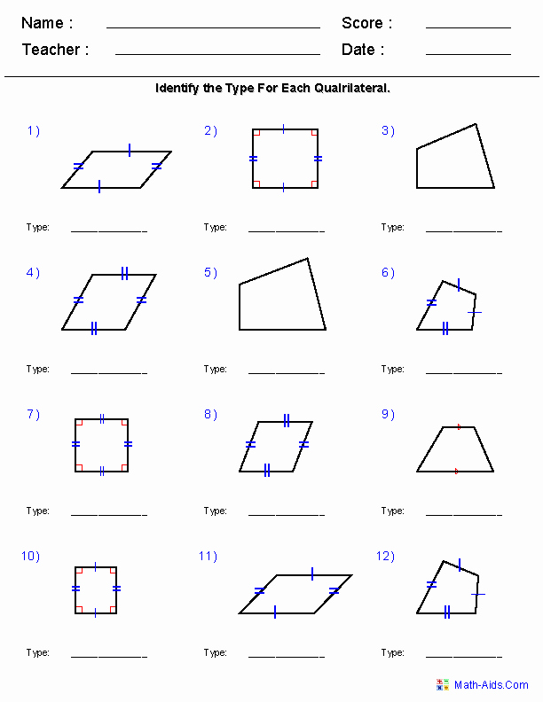 Polygon and Angles Worksheet Best Of Pin On Homeschool Lesson Supplements