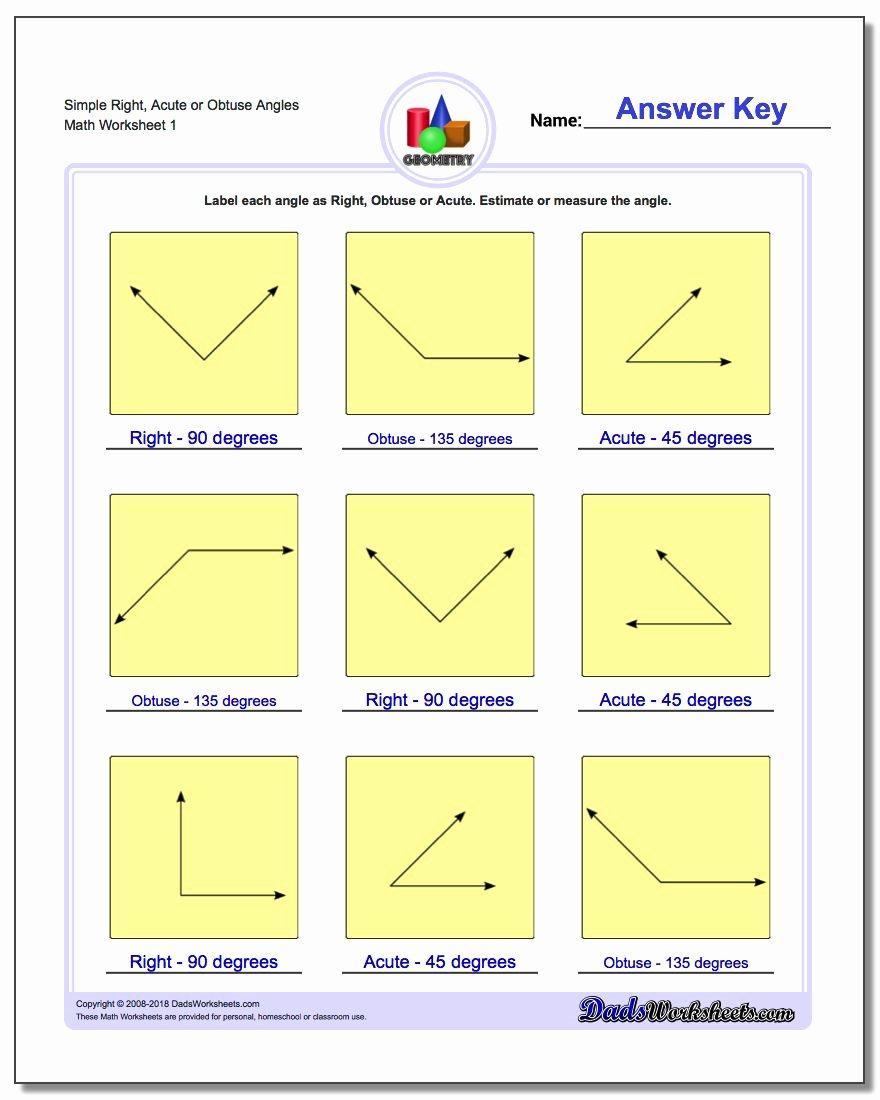 Polygon and Angles Worksheet Fresh Basic Geometry