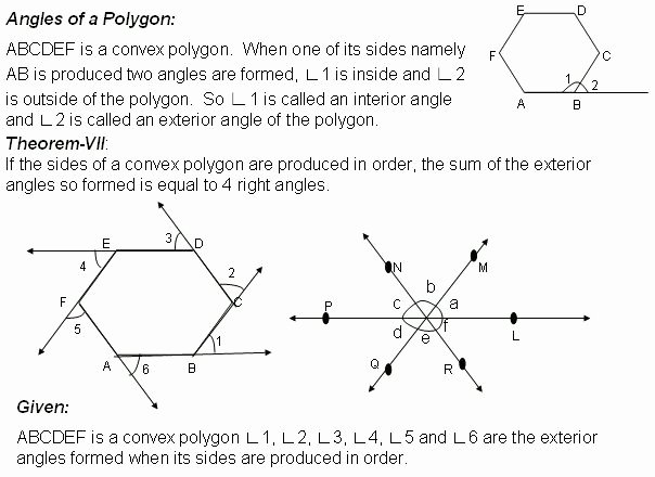 Polygon and Angles Worksheet Inspirational Best 25 Exterior Angle Of Polygon Ideas On Pinterest