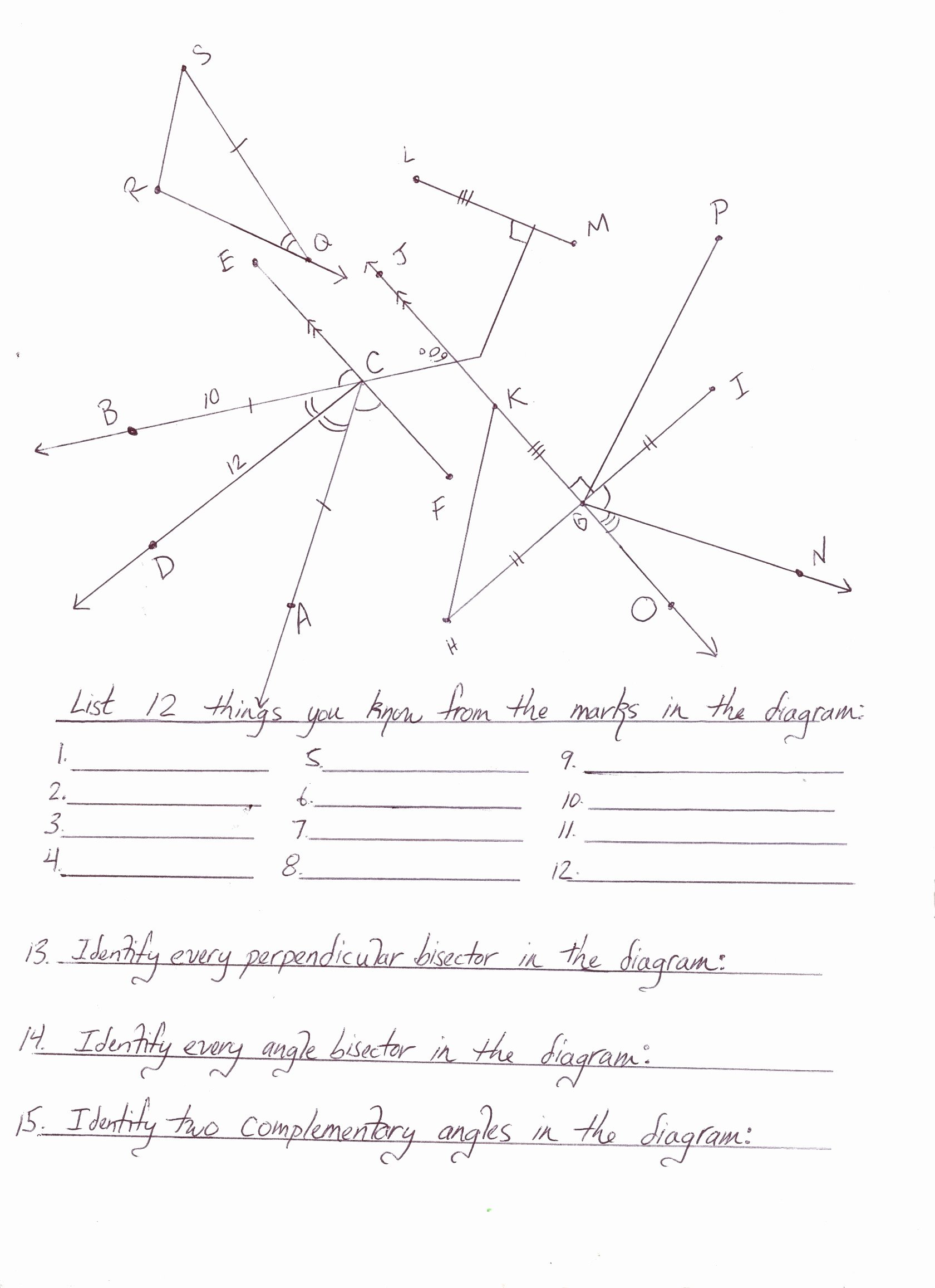 Polygon and Angles Worksheet New Geometry