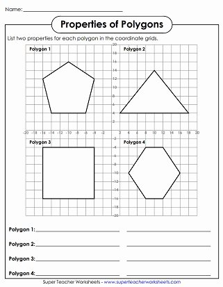 Polygon and Angles Worksheet Unique Polygon Worksheets