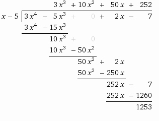 Polynomial Long Division Worksheet Inspirational solution Find the Quotient Of the Polynomials 3x 4 5x 3