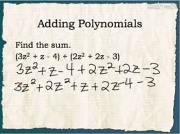 Polynomial Word Problems Worksheet Best Of Adding and Subtracting Polynomials Worksheet 20 Q