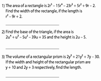 Polynomial Word Problems Worksheet Fresh Dividing Polynomials Worksheets