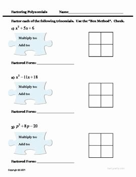 Polynomial Word Problems Worksheet Unique Multiplying Polynomials Worksheet Word Problems