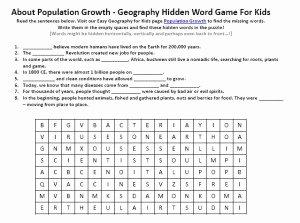 Population Ecology Graph Worksheet Elegant Population Growth Worksheet Free to Download Printable
