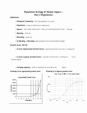 Population Ecology Graphs Worksheet Answers Awesome Population Growth Chapter 4 Section 1 Population Growth
