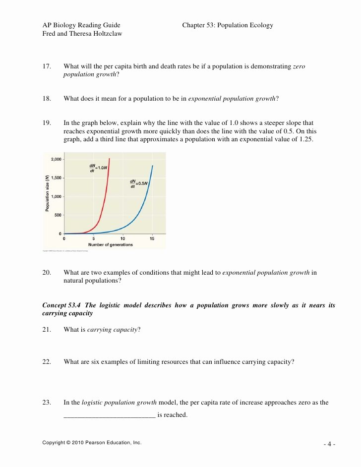 Population Ecology Graphs Worksheet Answers Best Of Population Ecology