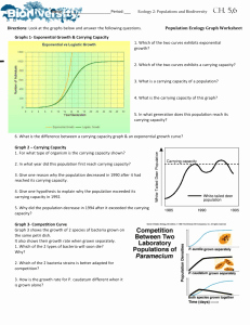 Population Ecology Graphs Worksheet Answers New 11 1 Human Population Growth