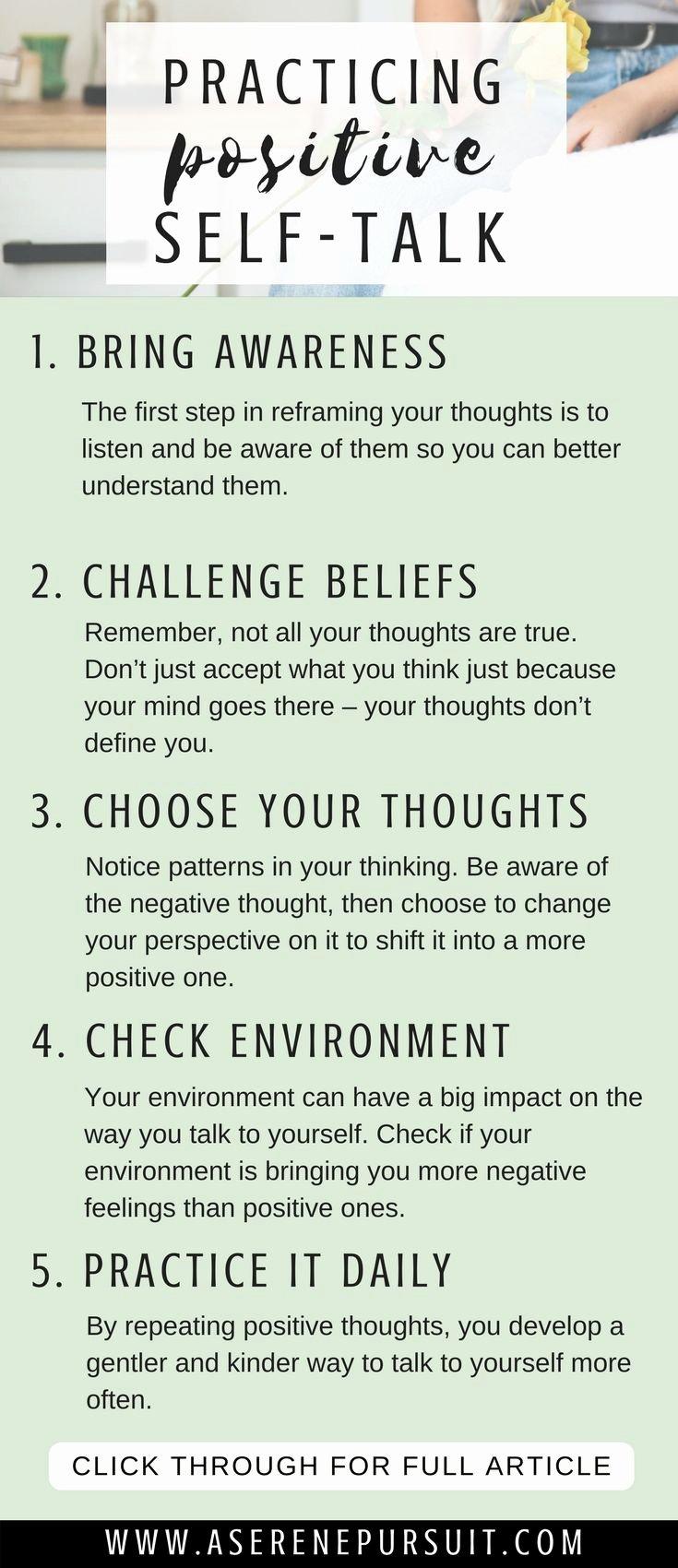 Positive Self Talk Worksheet Awesome Best 25 Negative Self Talk Ideas On Pinterest