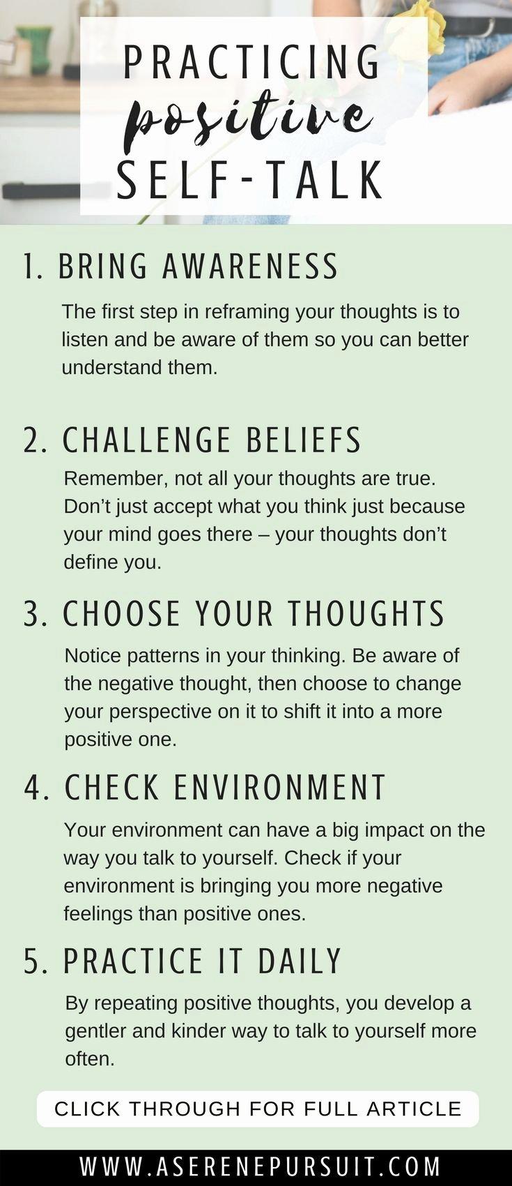 Positive Self Talk Worksheet Best Of Best 25 Positive Self Talk Ideas On Pinterest