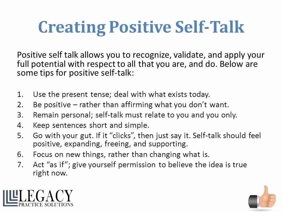 Positive Self Talk Worksheet Elegant Positive Self Talk Worksheet