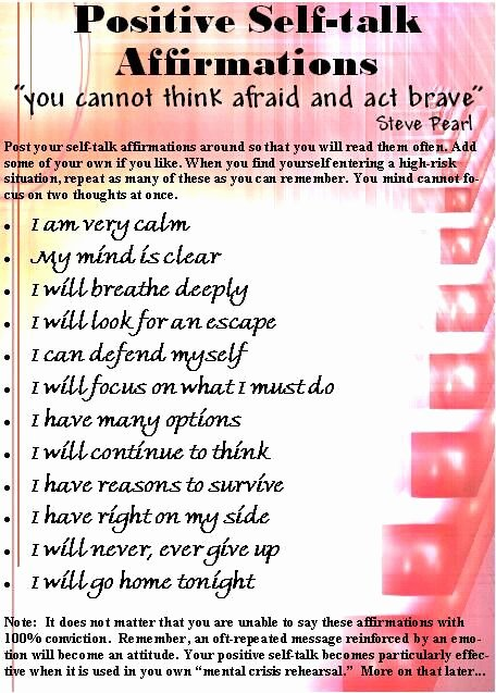 Positive Self Talk Worksheet Fresh 1000 Images About Teaching Positive Affirmation On