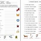 Possessive Adjectives Spanish Worksheet Lovely Spanish Possessive Adjectives with Animals and Colors