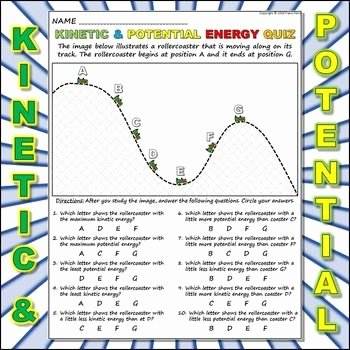 Potential Vs Kinetic Energy Worksheet Fresh Worksheet Kinetic Vs Potential Energy 2