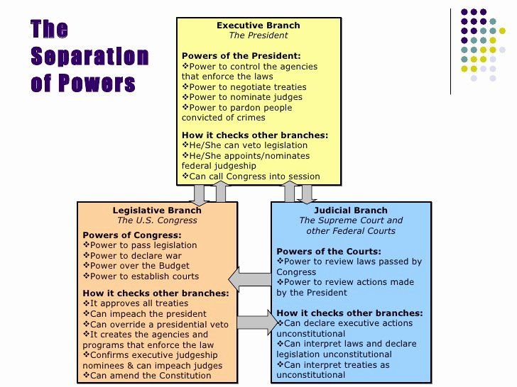 Powers Of Congress Worksheet Beautiful Separation Powers and Checks and Balances