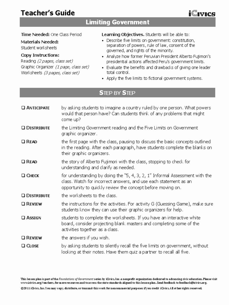 Powers Of Congress Worksheet Elegant Separation Powers Worksheet