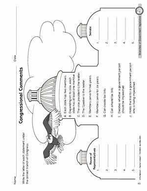 Powers Of Congress Worksheet Luxury Best 25 Branches Of Government Ideas On Pinterest