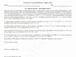 Pre Algebra Review Worksheet Awesome Basic Algebra Worksheet 4 – Pre Algebra Review
