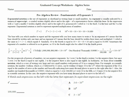 Pre Algebra Review Worksheet Fresh Basic Algebra Worksheet 6 – Pre Algebra Review