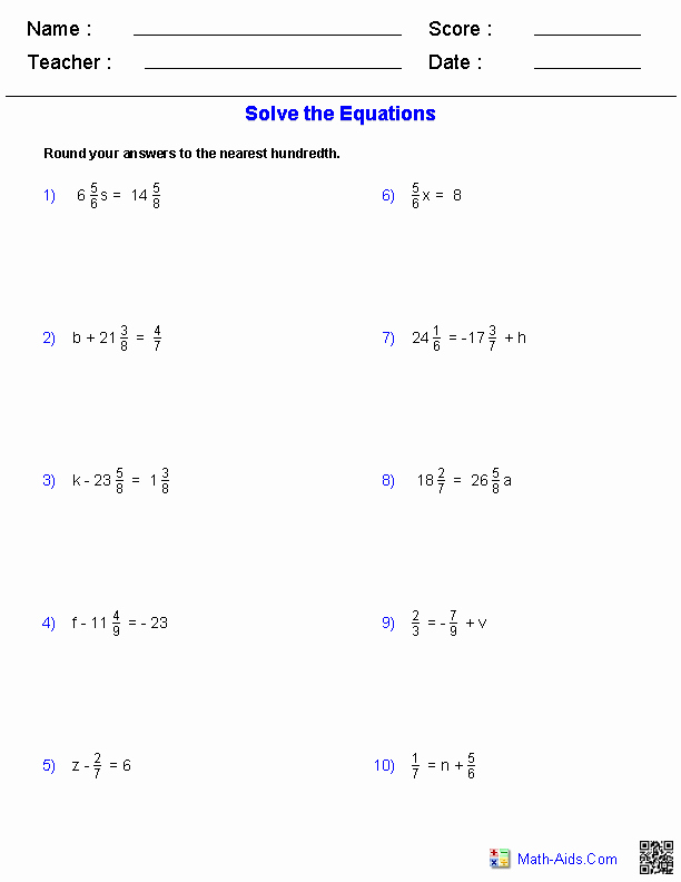 Pre Algebra Review Worksheet Luxury Pre Algebra Worksheets