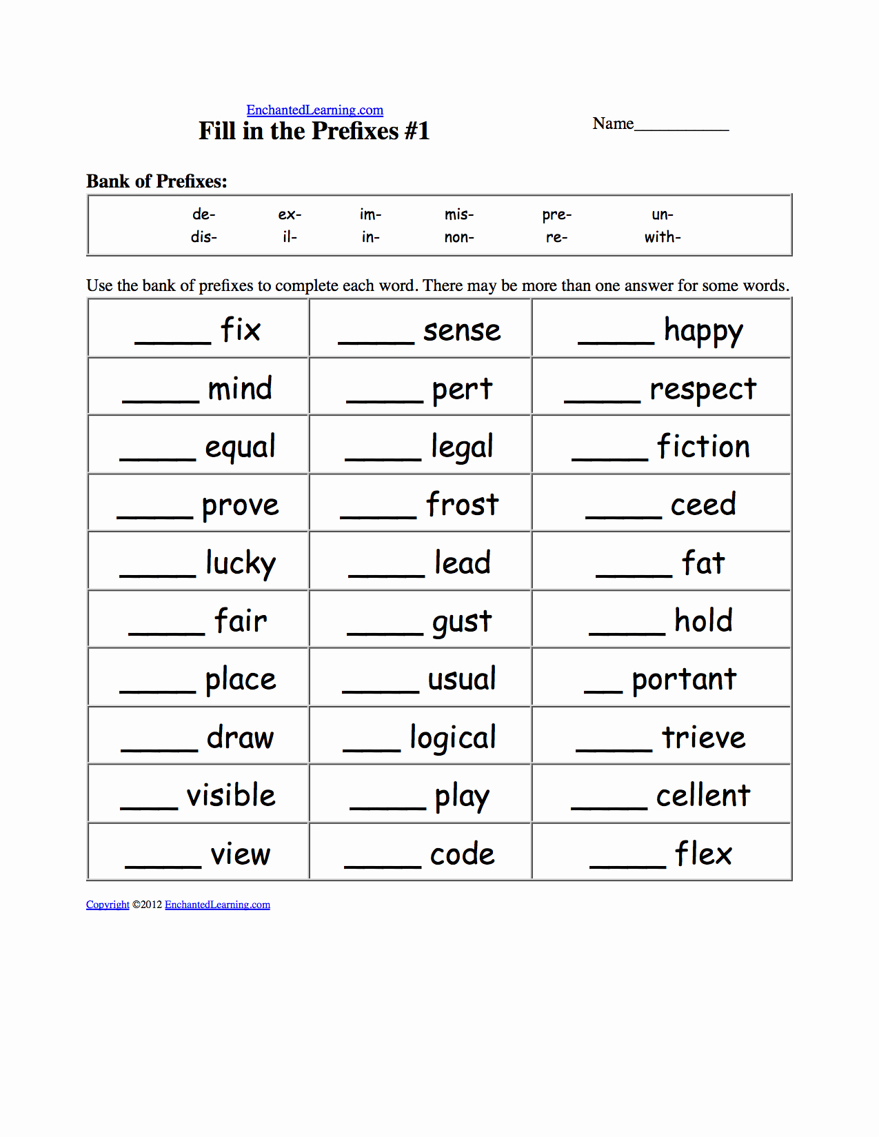 Prefixes and Suffixes Worksheet Lovely Worksheets and Activities Prefixes and Suffixes