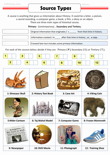 Primary and Secondary sources Worksheet Elegant Paring Primary Secondary and Tertiary Sectors by