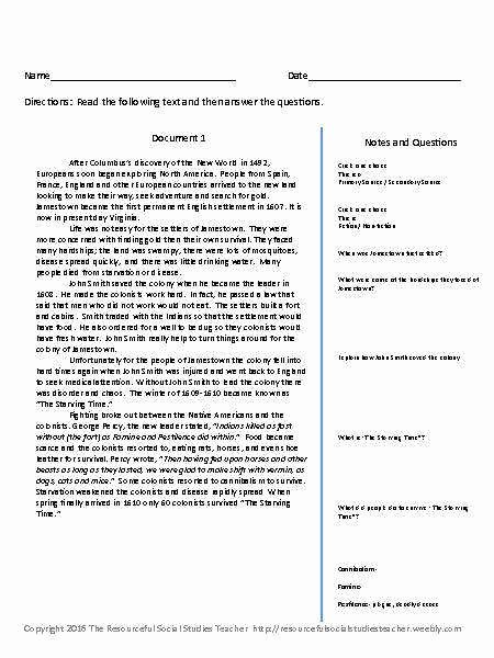 Primary and Secondary sources Worksheet Unique Primary and Secondary sources Worksheet