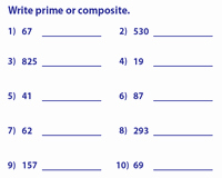 Prime and Composite Numbers Worksheet Awesome Prime and Posite Numbers Worksheets