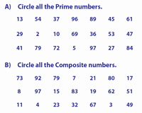 Prime and Composite Numbers Worksheet New Prime and Posite Numbers Worksheets