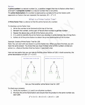 Prime Factorization Worksheet Pdf Unique Kindergarten Prime Factorization Worksheet Pdf Eaglee Me