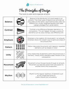 Principles Of Design Worksheet Best Of 1000 Images About Principles Emphasis On Pinterest