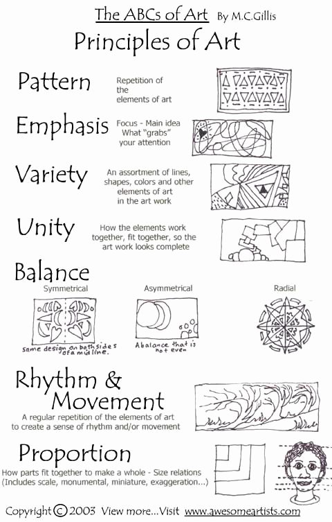 Principles Of Design Worksheet Best Of Art with Mr E Would the Real Principles Of Design Please