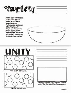 Principles Of Design Worksheet Best Of Principles Of Design Art Worksheet Bing