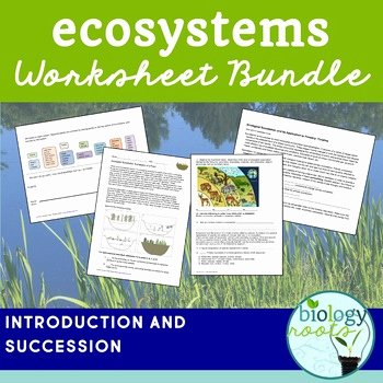 Principles Of Ecology Worksheet Answers Lovely Ecosystems by Biology Roots