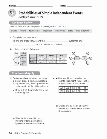 Probability Of Compound events Worksheet Awesome Probability Pound events Worksheet Worksheets for