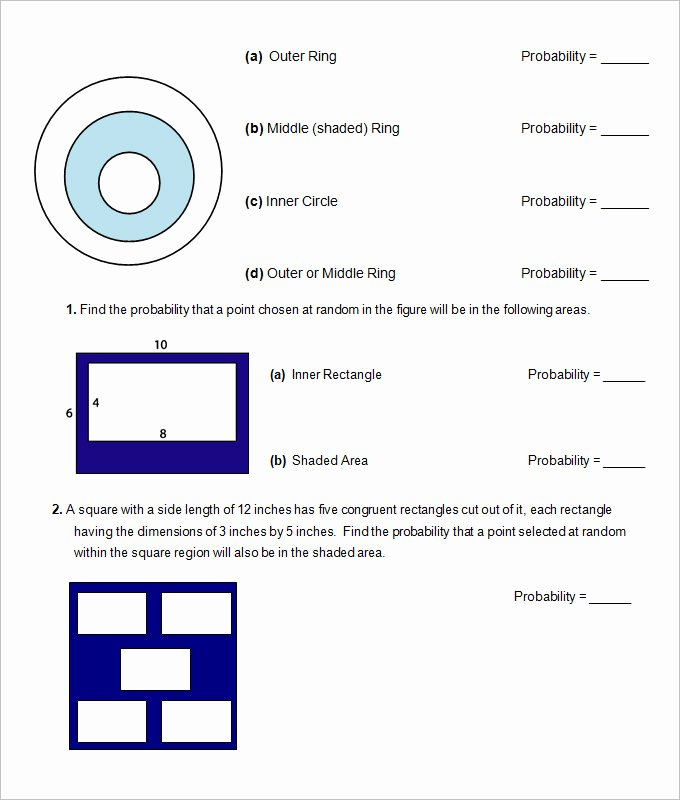 Probability Worksheet High School Beautiful 16 Sample High School Geometry Worksheet Templates