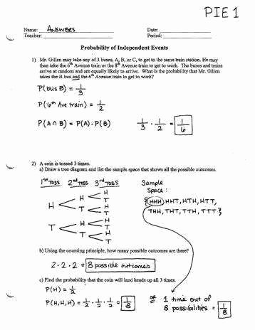 Probability Worksheet High School Best Of Probability Worksheets