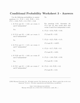 Probability Worksheet with Answers Beautiful Permutations and Binations Worksheet Answer Key